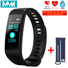 Y5 Smart Bracelet Heart Rate Monitor IP68 Waterproof Band Bluetooth 4.0 Fitness Tracker Sports Wristband sports bracelet