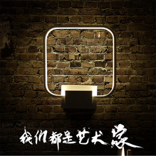 New LED wall lamp indoor rounded square living room bedroom light creative balcony corridor lighting zjright led grow light plant growth lamp indoor flowers potted bedroom living room balcony mall hotel decor warm white wall lamp