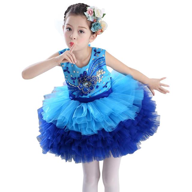 Lo nuevo Bountique taladro Niñas Cabritos Del Vestido de la princesa Vestido de Las Muchachas del Cabrito Ropa de gama Alta vestido de boda vestido de fiesta de Navidad