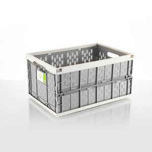 Image 1 - auto car folding storage box car organizer Multi function Plastic car debris storage box trunk organizer travel freeshipping