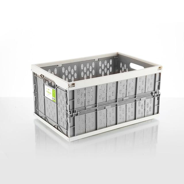 auto car folding storage box car organizer Multi function Plastic car debris storage box trunk organizer travel freeshipping