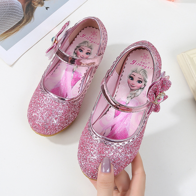 9bc57d13056 2019 new children s high heels girls princess shoes single shoes autumn  little girl leather shoes EU size 24 36-in Sneakers from Mother   Kids on  ...