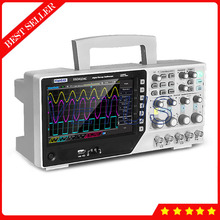 "Buy online Hantek DSO4104C 100MHz 4 Channel Digital Storge Oscilloscope Price with Bench type Scopemeter 1GSa/s USB 7"" Color 64K color TFT"