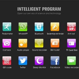 Image 3 - 2021 Smart Horloge GT08 Plus Metalen Band Bluetooth Pols Smartwatch Z60/Android Ondersteuning Sim Tf Card Horloge Multi talen