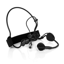 Mini XLR 3 Pin Directional Wired HeadWorn Dynamic Microphone Headset Mic For SAMSON Wireless Karaoke System Bodypack Transmitter skin color mini xlr 4 pin ta4f wired single earhook condenser headset microphone for shure wireless system bodypack transmitter