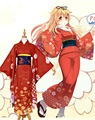 Kantai collection Kai Ni Yuudachi kimono cosplay costumes
