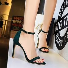 Women Pumps Ankle Strap Summer Shoes Woman High Heels Sandal