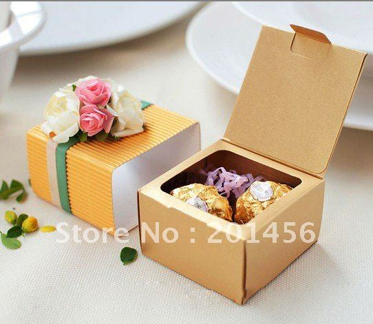 Candy Box Gift Kp005 Wedding Chocolate Package