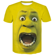 2019 Newest United Kingdom Flag 3d T-Shirt Harajuku Shrek Funny Kitten 3D tshirts Streetwear Tops For Women Men Hip hop M-4XL