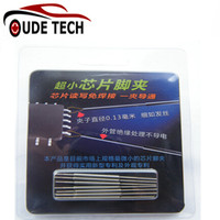Universal clip de chips TSOP/MSOP/SSOP/TSSOP/SOIC/SOP IC Pin de Control Remoto de Coches clave clip de programación en línea