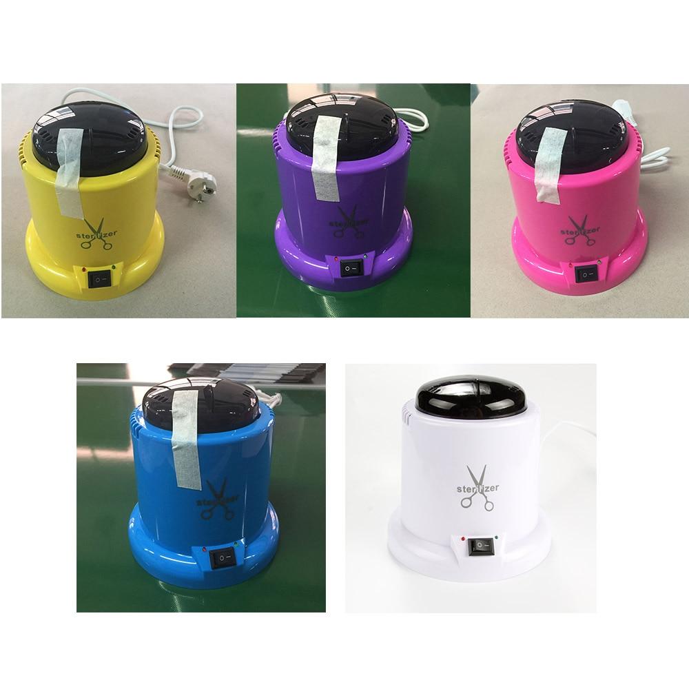 Nagel Werkzeuge Hochtemperatur-sterilisator Box Stahl Metall Nipper Pinzette Desinfektion Maschine Sterilisator Ausrüstung mit Glaskugel