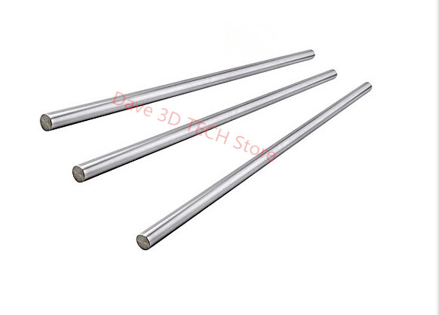 8pcs 3D printer UM2 Smooth Rods Ultimaker 2 Linear Shaft for X Y Z Axis + Print Head Shaft Rods Shaft Bar Chrom|smooth rod|3d printer ultimaker 2|ultimaker 2 um2 - title=