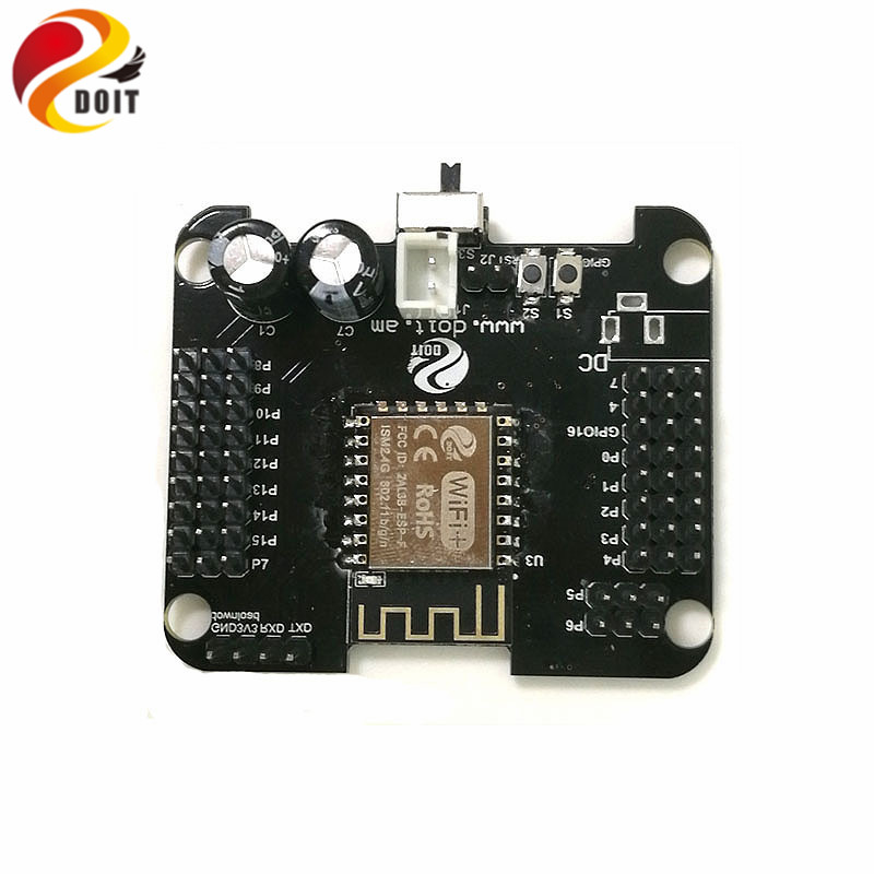 DOIT Control Board for 18DoF Biped Robotic Humanoid Robot Educational Robot DIY RC Toy new 17 degrees of freedom humanoid biped robot teaching and research biped robot platform model no electronic control system