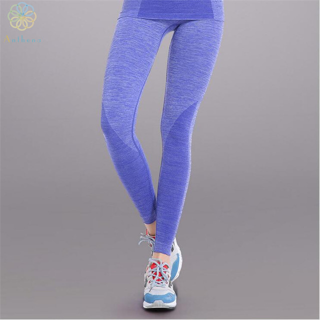 956f650377 2016 Exclusive Starter Section Dyeing Technology Women Sports Pants Capri Gym  Fitness Running Yoga Trousers Spandex Tights