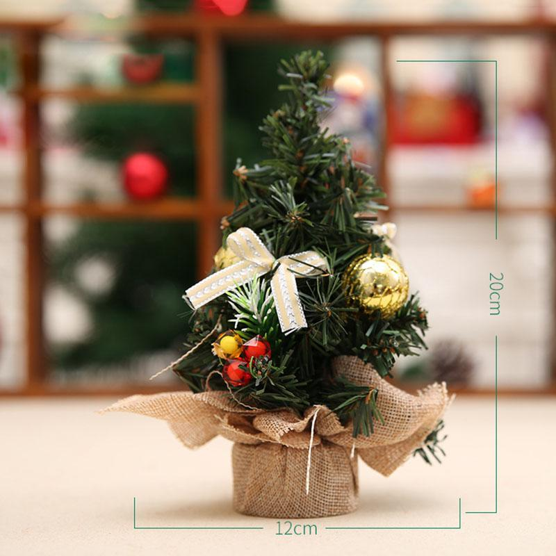 Mini Christmas Tree Best Gifts Office Desk Table Merry ...