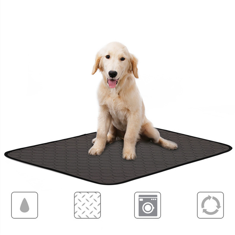 Dog Mats Washable Dog Pee Pads Non Slip Puppy Pad Control Waterproof Pet Mats For Travel,Crate,Floor,Playpen 23 JulyO8
