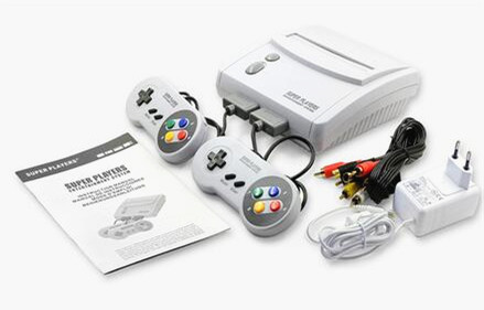 The newest snes 16 Bit Game Console NTSC version and PAL version ...