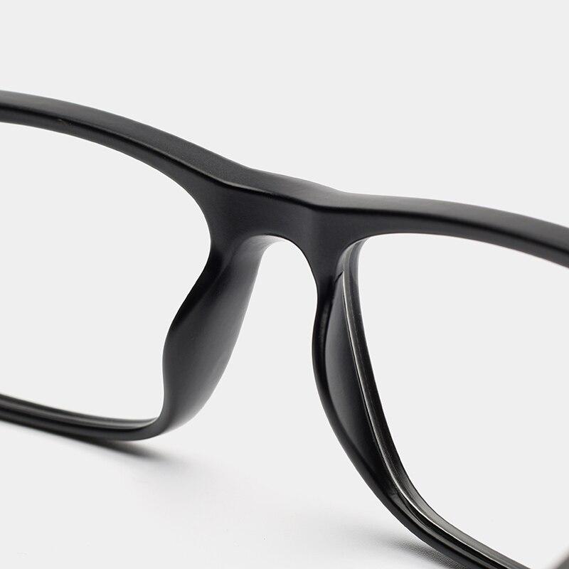 Optische Lesen Tr90 Transparent Sicht Gläser c4 Farbige c3 Yx0140 c2 Brillen Myopie Computer Klare Retro Männer C1 xftxwrqH