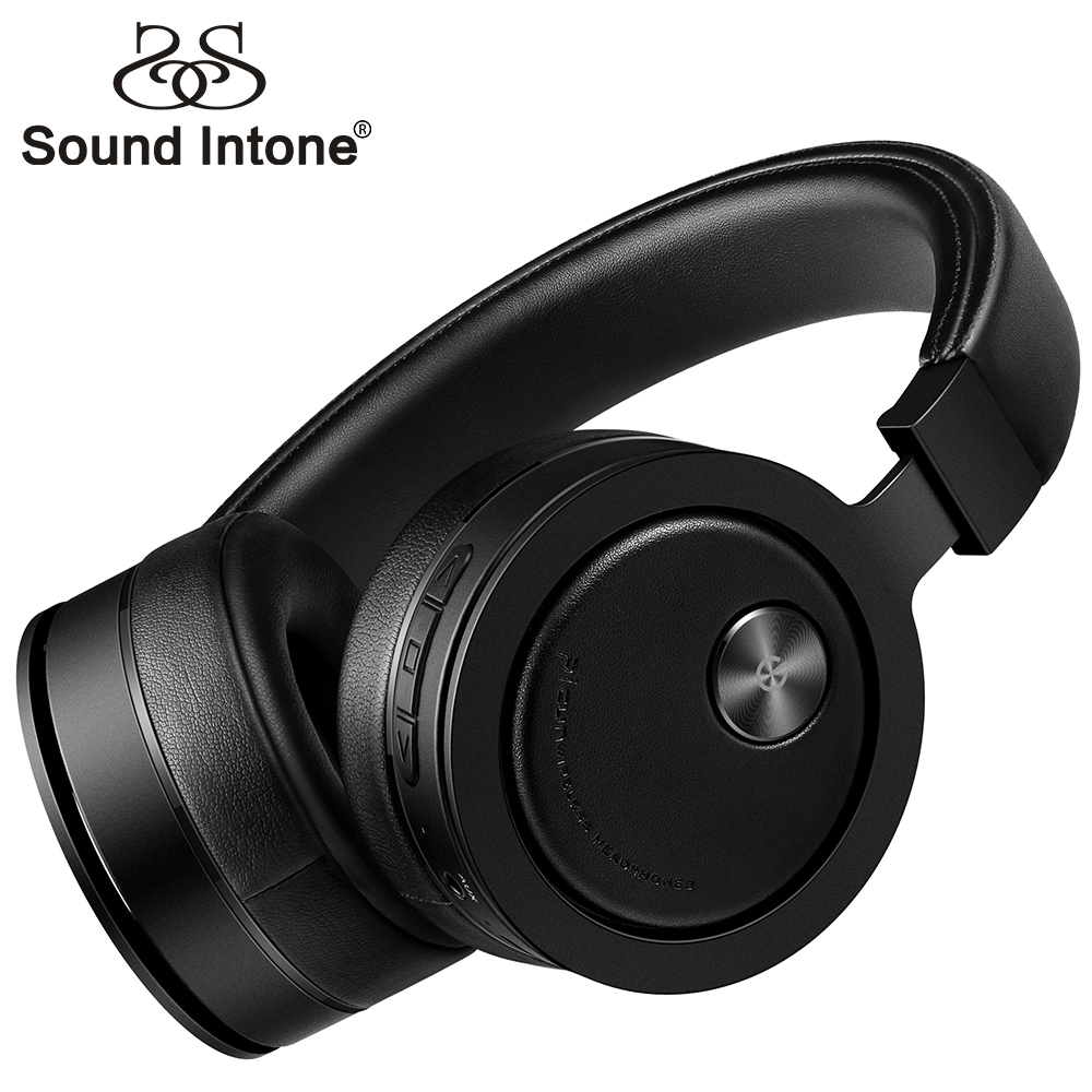 Sound Intone P18 Bluetooth Headphones Wireless Super Bass Headset With MIC Foldable Over Ear Headphone For Phone PC Gaming MP3 sound intone p30 wireless headphones with mic support tf card bluetooth headphone over ear headsets for xiaomi for iphone pc