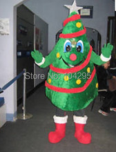 new fast ship ohlees Funny  Santa Claus character halloween christmas Tree party gift mascot costumes adults size costomize