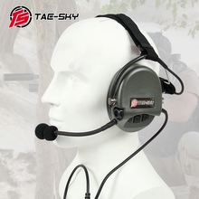 TAC-SKY TCI LIBERATOR II  SORDIN Silicone earmuff version Noise reduction pickup headset-FG