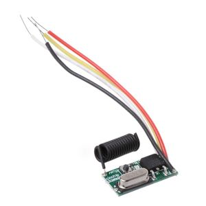 Image 5 - Wireless Remote Control Button Light Switch Mini Receiver 3.6V 12V 24V 433MHz Transmitter Controller Module