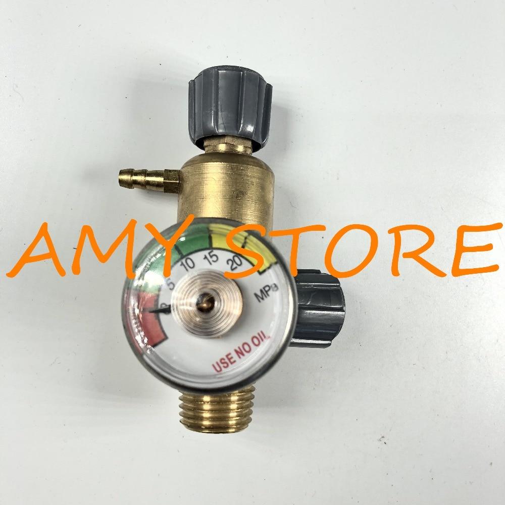 20MPa Metal Male Thread Oxygen Pressure Control Valve Regulator Gauge Safety Relief Valve accumulator safety ball valve safety valve aqf l25h1 a 10mpa aqf pressure valve