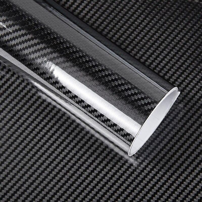 Super Quality Ultra Gloss 5D Carbon Fiber Vinyl Wrap Big Texture Super Glossy 5D Carbon Film With Size 50cm*150cm/200cm/300cm