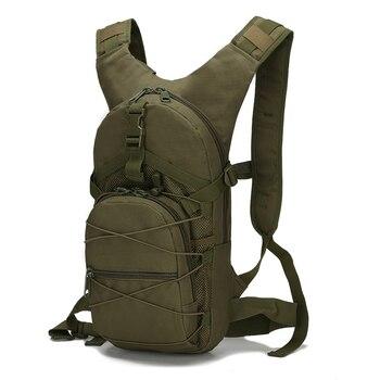 Los hombres de mujer bolsas de 15 litros mochila táctica ejército pesca mochila táctica al aire libre multifuncional viajes mochila militar