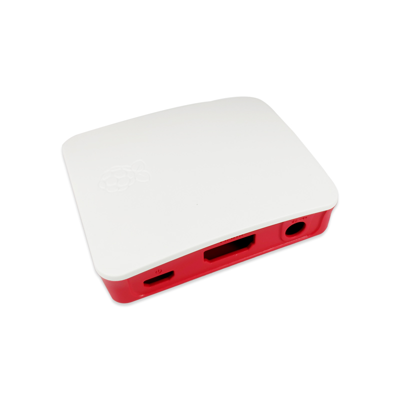 Official Case For Raspberry Pi A And 3A+ Red & White Color