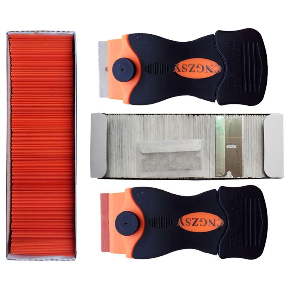 LOCA UV Glue Remover Scraper Plastic Steel Blades Mobile Phone LCD Touch Screen Residue Adhesive Car