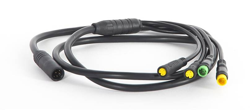 bafang BBS01 or BBS02 kit eb-bus cable 1T4 waterproof harness