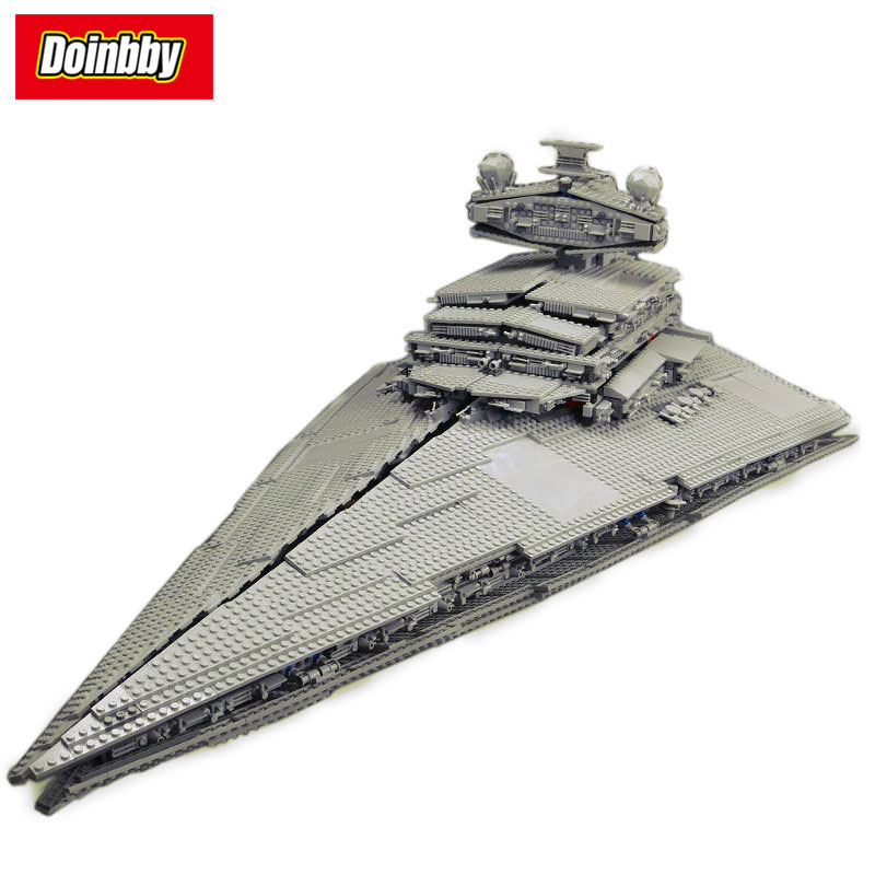 Lepin 05027 Star Wars Emperor Fighters Star Ship Mobile Building Block 3250Pcs Bricks Toys Compatible Legoings