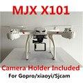 X101 MJX 2.4G RC quadcopter drone/drones helicóptero do rc 6-axis câmera pode adicionar C4005 c4008 (FPV) PK X5SW VS X5C-1 X6sw
