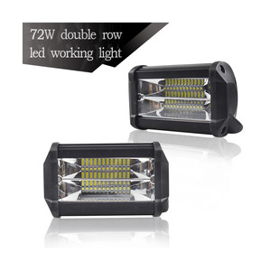 Image 1 - Luces Led Para אוטומטי אוטומטי ואופנוע חופר הנדסת רכב עזר זרקור עבודת אור LED מנורות עבור מכוניות