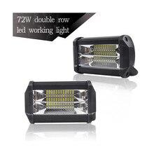 Luces diodo emissor de luz para auto e escavadeira da motocicleta veículos de engenharia auxiliar spotlight luz de trabalho lâmpadas led para carros