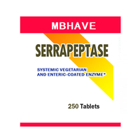 FREE SHIPPING NEW 2017 Serrapeptase 80 000iu 250pcs High Strength Health Aid Natures Best