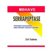 FREE SHIPPING NEW 2017 Serrapeptase 80 000iu 250pcs High Strength Health Aid Natures Best