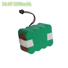 3500mAh 14.4V Ni-MH Battery Pack for robot Hoover Expert 9240 Vacuum Cleaner 1 piece robot vacuum cleaner spare parts rechargeable battery ni mh 3500mah pack for seebest c565 c561 c571 c565
