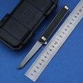 LEMIFSHE заказной Quartermaster Qwaiken Флиппер складной нож M390 сталь титан + CF ручка кемпинг открытый фрукты Ножи EDC инструмент