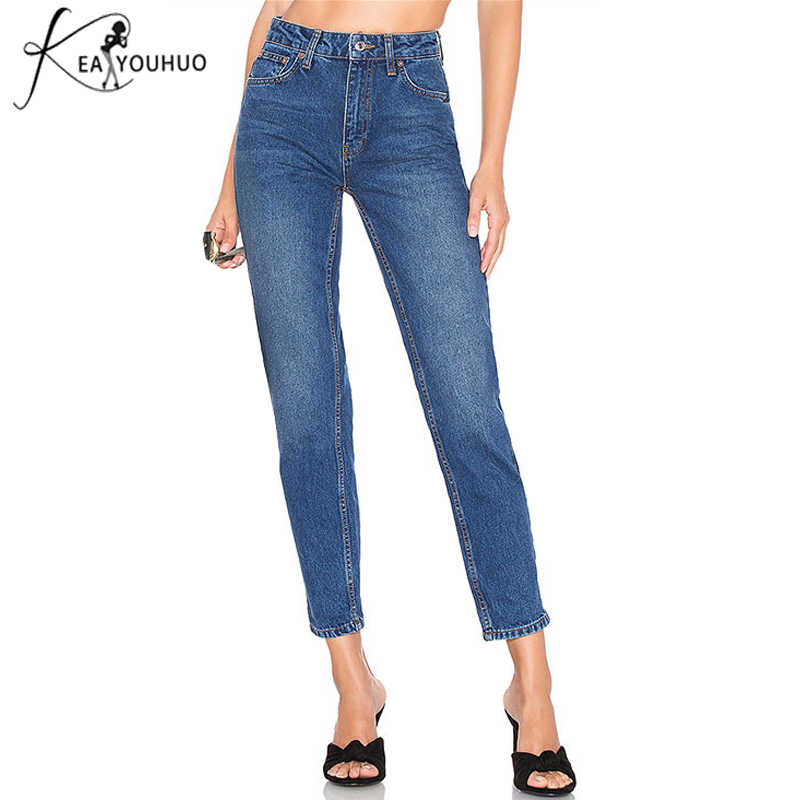 4291f1b6267 New 2018 Plus Size Pants Boyfriend Jeans For Women Skinny Jeans Woman With High  Waist Jeans