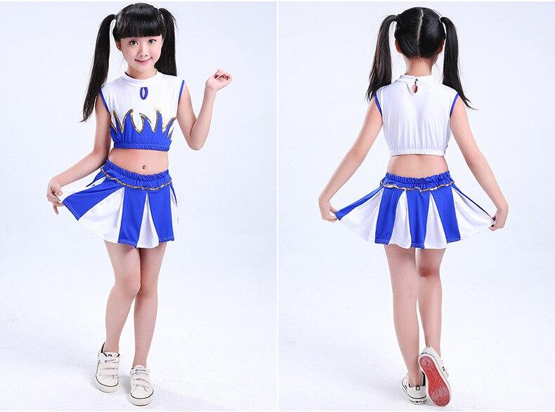 תלבושות הריקוד מעודדות תחפושות ילדים מעודדות תחפושות סטודנטים מעודדות ריקוד תלבושות בני בנות סגנון
