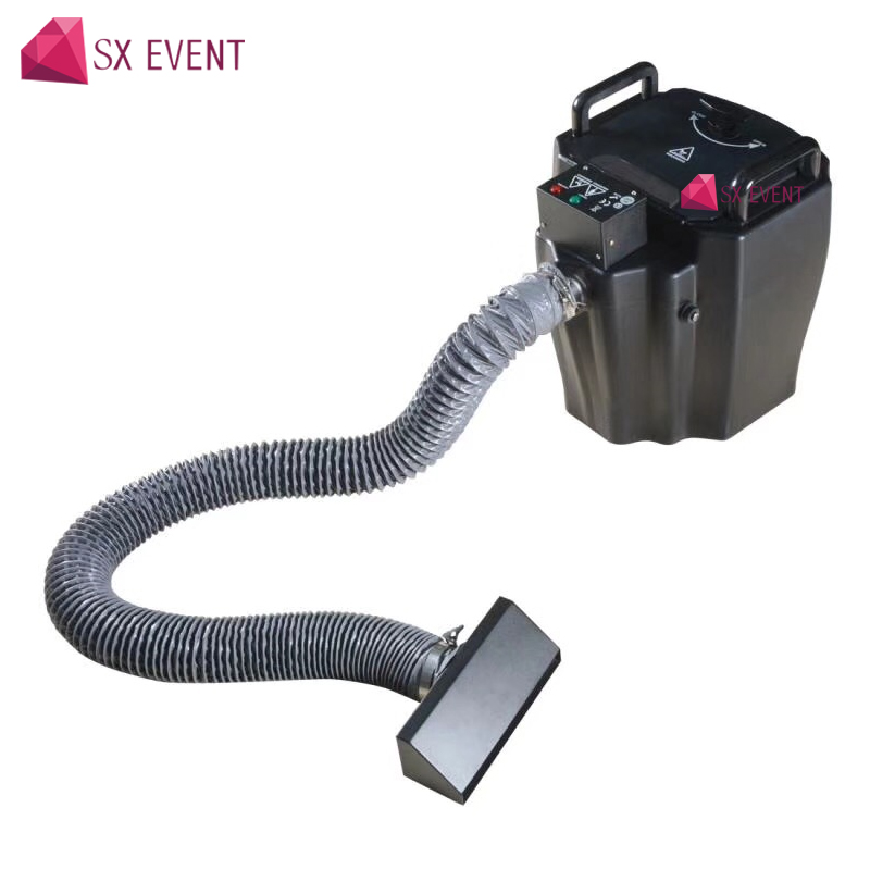 Professional stage effects 3500W dry ice machine With smoke nozzle low ground For Big Show Night Club Wedding party цена