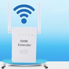 300 Mbps Draadloze Relais Nieuwe Dual Antenne Dual Netwerk Poort Draadloze WIFI Signaal Versterker Draadloze AP