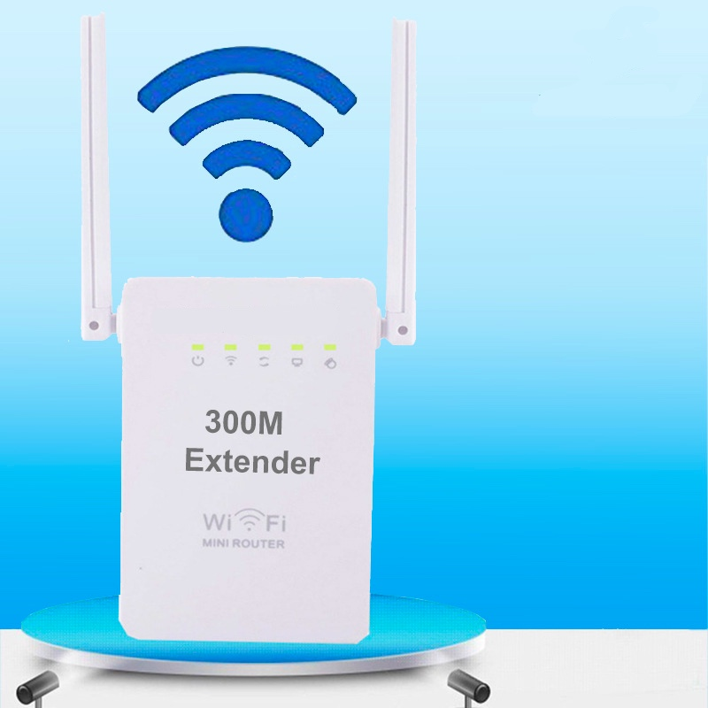 00 Mbps Wireless Relay New Dual Antenna Network Port WIFI Signal Amplifier AP