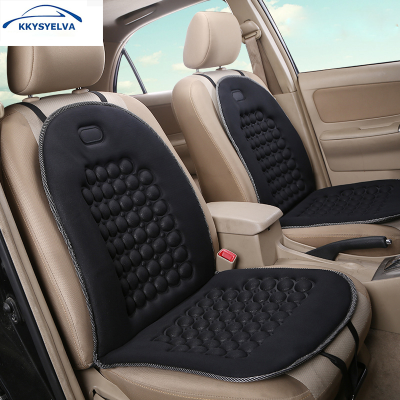 Seat Covers For Trucks >> Us 14 79 26 Off Kkysyelva Car Seat Cushion Cover Massage Auto Truck Vehicle Driver Seat Covers Universal Cushion Car Styling Protectors Pad In