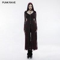Готический пламени длинное платье WY836