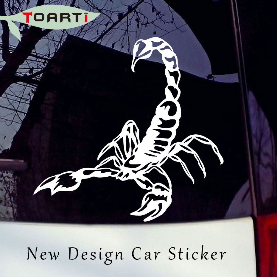 Scorpion Sign Car Decal Vinyl Sticker For Window Panel Bumper