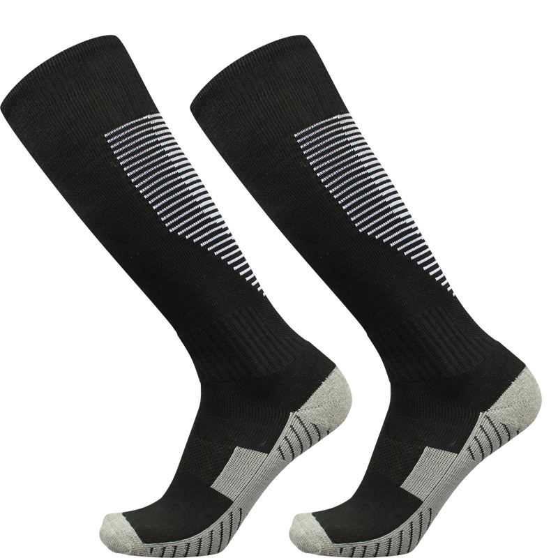 New High Quality Outdoor Sports Men's Compression Soccer Football Socks Men's Cotton Towel Cycling Basketball Running Socks
