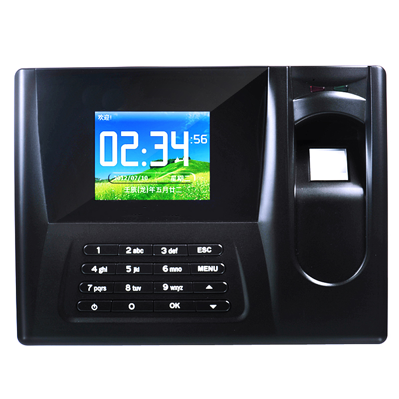 ZDC021 Password Fingerprint Time Recorder TCP/IP SOFTWARE USB FINGERPRINT RFID ATTENDANCE tcp ip fingerprint time attendance color screen 2000 user time attendance fingerprint password rfid card time atteendance